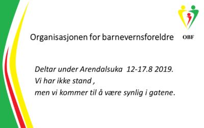 Arendalsuka 2019